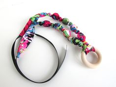 A personal favorite from my Etsy shop https://www.etsy.com/listing/194013903/multi-colored-beaded-fabric-necklace
