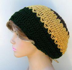ddffc24c1a6 Sunflower pure WOOL smaller Tam Hippie Hat by PurpleSageDesignz  21.00 Mens Beanie  Hats