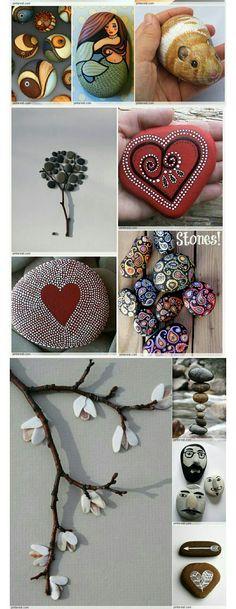 #mandala #stones #idee