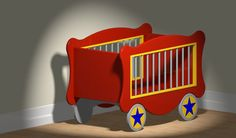 Circus Wagon Toy Box Woodworking Plan