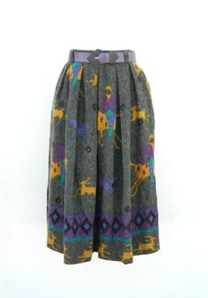 Vintage 1980's 'Mondi' southwest style woolen by TheCrownStProject, $60.00