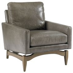 DwellStudio Leather Irving Chair