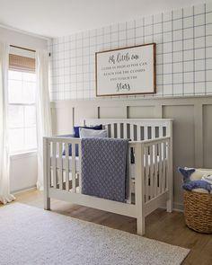Blue and Gray Nursery Reveal