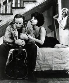 Marlon Brando, Anna Magnani and Joanne Woodward in The Fugitive Kind, 1959