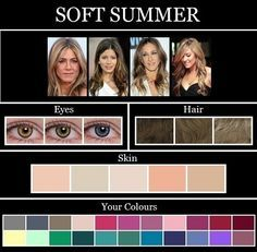color for skin tones of summer - Google Search