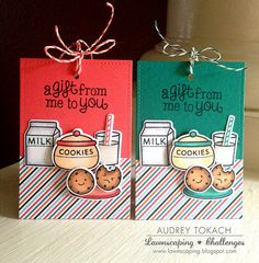 Milk and Cookies Tags