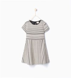 Jacquard dress - Dresses and overalls - Girl (3 - 14 years) - KIDS | ZARA United States