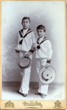Boys in sailor suits | Flickr - Photo Sharing!