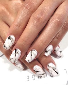 #Marble #nails are so popular, have you tried them yet?