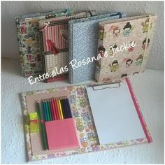 3d Paper Crafts, Cardboard Crafts, Paper Art, Diy And Crafts, Notebook Diy, Decorate Notebook, Dvd Case Crafts, Diy Projects To Try, Sewing Projects