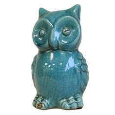 Toot the Owl - Teal - The Online Gift Shop
