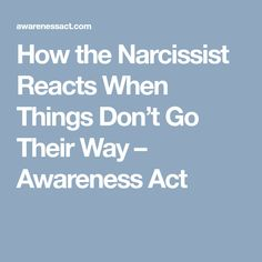 If you have ever been in a relationship with a narcissist then you know how terribly off the wall they truly can be. One minute everything is fine and the next something small has sent Toxic Men, Relationship With A Narcissist, Narcissistic Behavior, Everything Is Fine, Emotional Abuse, Words, Recovery, Perspective, Psychology