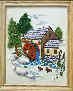Here are some great resources for Crewel Embroidery, starting with the history and ending with some project ideas. Description from makezine.com. I searched for this on bing.com/images