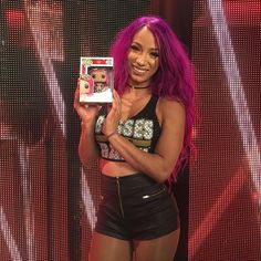 wwe Embrace your inner boss with the NEW @sashabankswwe @originalfunko action figure! Coming soon... 2017/07/09 00:29:02