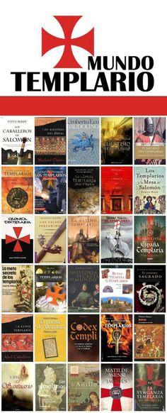 """Mundo Templario. Una """"mirilla"""" de la Biblioteca Municipal de Móstoles. http://bibliotecademostoles.wordpress.com/"""