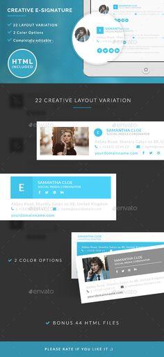 Creative E-signature  - Miscellaneous Web Elements