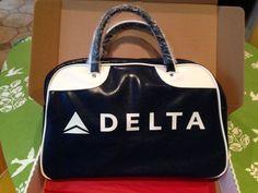 Delta Airlines Flight Attendant 75th Anniversary Bag by Zac Posen