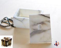 Jewelry box Arabesque 11 in Special white by TagliazucchiArteShop