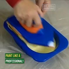 SUPER EASY DIY WALL PAINTING This 2019 premium do-it-your-self paint kit is perfect for you. Get perfect & excellent results from this innovative pai. Diy Wall Painting, Painting Tools, House Painting, Home Painting Ideas, Diy Simple, Easy Diy, Traditional Paint, Diy Wand, Home Organization Tips