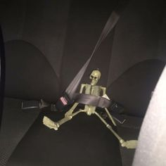 """""""Can you just move the skeleton toy?"""" """"Excuse you, his name is rattleybones and he needs that seat belt for SAFETY. Aesthetic Grunge, Aesthetic Art, Aesthetic Pictures, Stupid Memes, Funny Memes, Erich Von Stroheim, Grunge Photography, Spooky Scary, Cursed Images"""