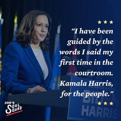 """""""I have been guided by the words I said my first time in the courtroom. Kamala Harris, for the people."""" - Kamala Harris Democratic National Convention, Special Quotes, Kamala Harris, Presidential Election, Joe Biden, First Time, Politics, Shit Happens, Sayings"""