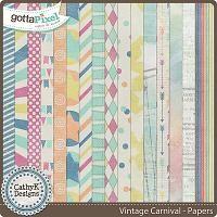 Vintage Carnival - Papers