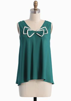 tank with bow detailing from ruche - #womensfashion, #clothing, #women