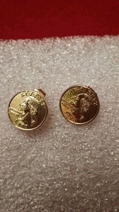 Vintage U. coin earrings Great condition U. Vintage Designs, Jewelry Watches, Coins, Cufflinks, Conditioner, Pierced Earrings, Ebay, Accessories, Rooms