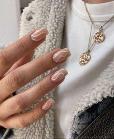 Water Color Nails, Beige Nails, New Nail Designs, Hot Nails, Trendy Nails, Nail Inspo, Summer Nails, Gel Polish, Nail Colors