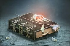 Grimoire Book by *Sally-Jackson on deviantART