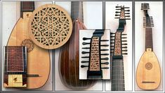 Lutes & Guitars | Thirteen course lutes