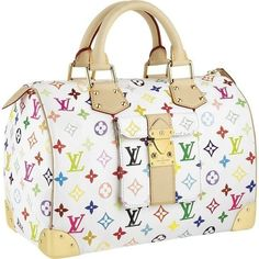 Louis Vuitton Multicolore Speedy 30 by Takashi Murakami Sac Speedy Louis Vuitton, Louis Vuitton Taschen, Louis Vuitton Online, Louis Vuitton Handbags, Louis Vuitton Monogram, Vuitton Bag, Lv Handbags, Latest Handbags, Handbags Online