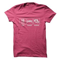 Eat Sleep Nurse T Shirt, Hoodie, Tee Shirts ==► Shopping Now!