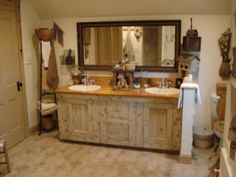 a fine farmhouse: bathroom