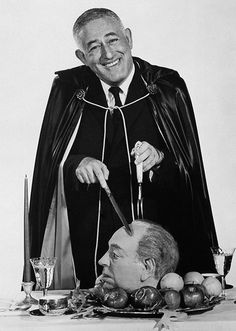 William Castle (House on Haunted Hill, The Tingler) takes a stab at Alfred Hitchcock.