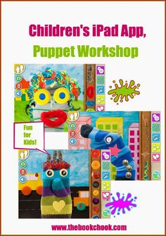 Children's iPad #App, Puppet Workshop - creative and fun. #edtech