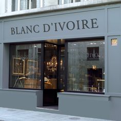 Blanc d'Ivoire Presents a very clean yet romantic style. They sell the French quilts you're dreaming of
