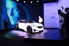 #PeugeotFractal at the #IAA15 ! #motorshow #exhibition #conceptcar