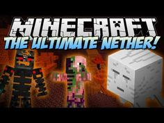 Minecraft | ULTIMATE NETHER! (Welcome to HELL!) | Mod Showcase [1.6.2]