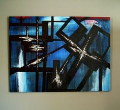 Large, Abstract, Original Painting, Bauhaus Style, Geometric, Textured, Modern, Abstract Art, Contemporary Art, Textured Art, Art, 30 x 40