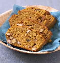 Cake au potiron amandes et noisettes, la recette d'Ôdélices : retrouvez les ingrédients, la préparation, des recettes similaires et des photos qui donnent envie !