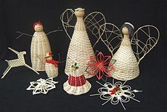 Woven Ornaments & Decorations with Pattie Bagley at the John C. Campbell Folk School   folkschool.org