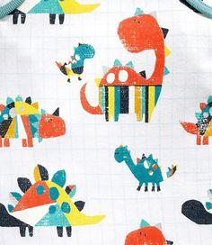 next print & pattern Dinosaur Images, Dinosaur Design, Dinosaur Dinosaur, Dinosaur Illustration, Pattern Illustration, Kids Patterns, Print Patterns, Children's Book Characters, Kids Graphics