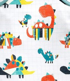 print & pattern blog  - Kids dinosaur design from Next ss2016
