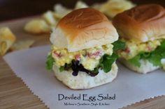 Melissa's Southern Style Kitchen: Deviled Egg Salad