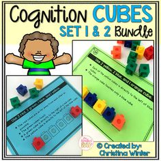 This set of 56 interactive logic puzzles will have kids begging for more! Easy to use, these brain teasers are a great math center that will keep kids engaged while thinking logically. These puzzles are perfect to help your 1st and 2nd grade students learn to