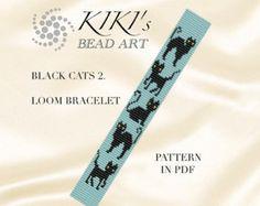 Loom pattern Coil LOOM bracelet pattern in PDF  by KikisBeadArts