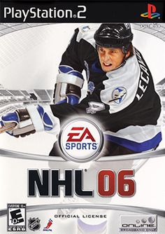 NHL 06 lets you play through a season of hockey with all of the teams, players, and arenas from the National Hockey League. Nhl Games, Xbox Games, Ever After High Games, Hockey, Nintendo, Nhl Season, Gamecube Games, Ea Sports, Game Sales