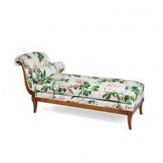 CASTANEA Sotheby Chaise Longue - White