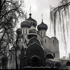 Our Lady of Smolensk Cathedral at the Novodevichy Convent in Moscow, Russia
